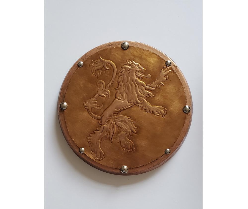 Peça Decorativa em latão Game of Thrones Leão