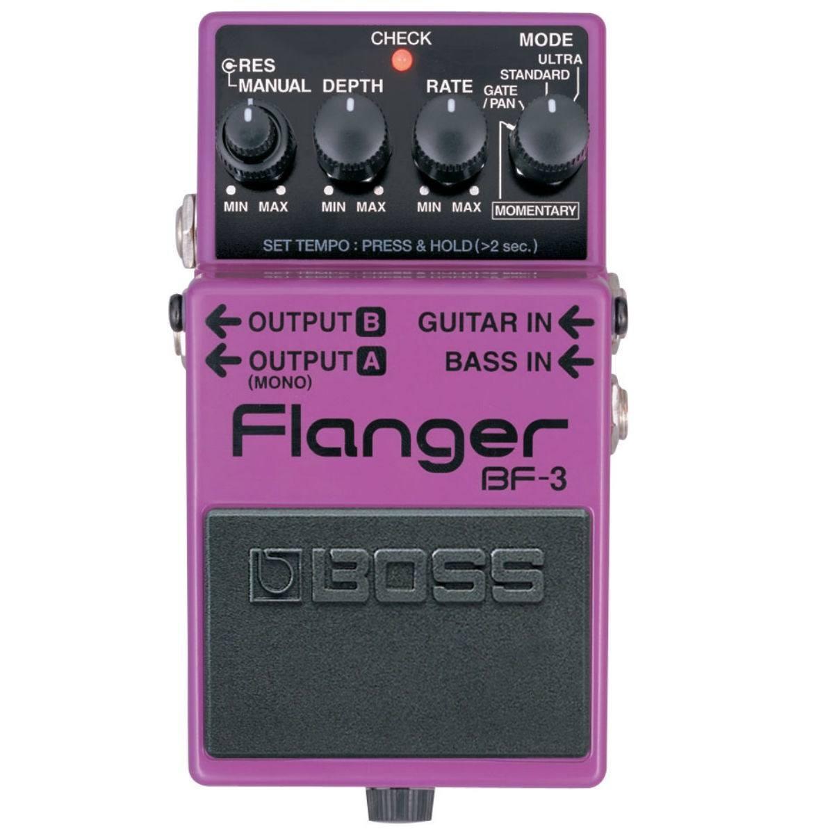 Pedal para Guitarra Boss BF-3 Flanger