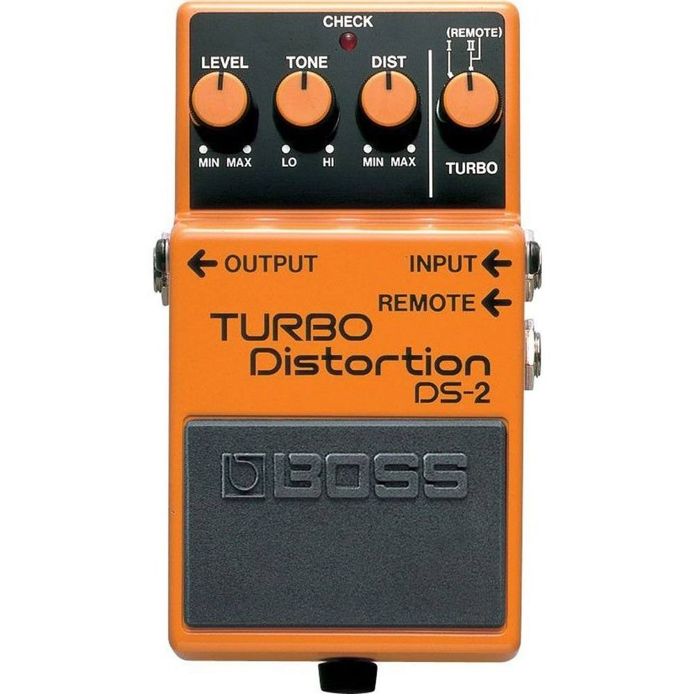 Pedal para Guitarra Distorção Boss DS-2 Turbo Distortion