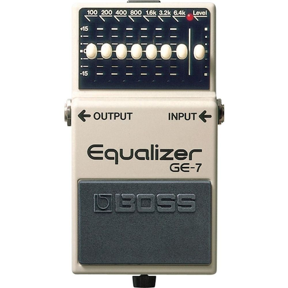 Pedal pedal Guitarra Boss GE-7 Equalizer