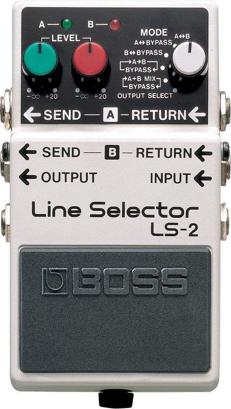 Pedal para Guitarra Boss LS-2 Line Selector
