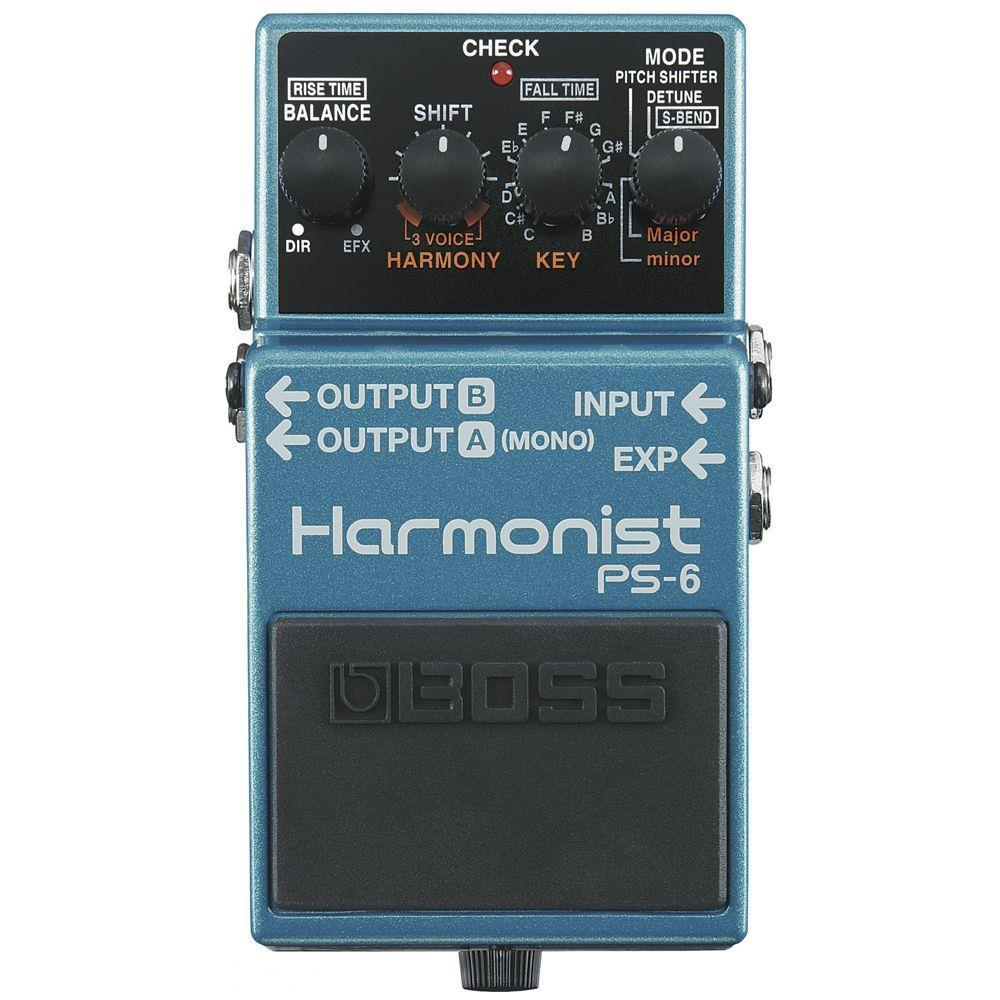 Pedal para Guitarra Boss PS-6 Harmony Shifter