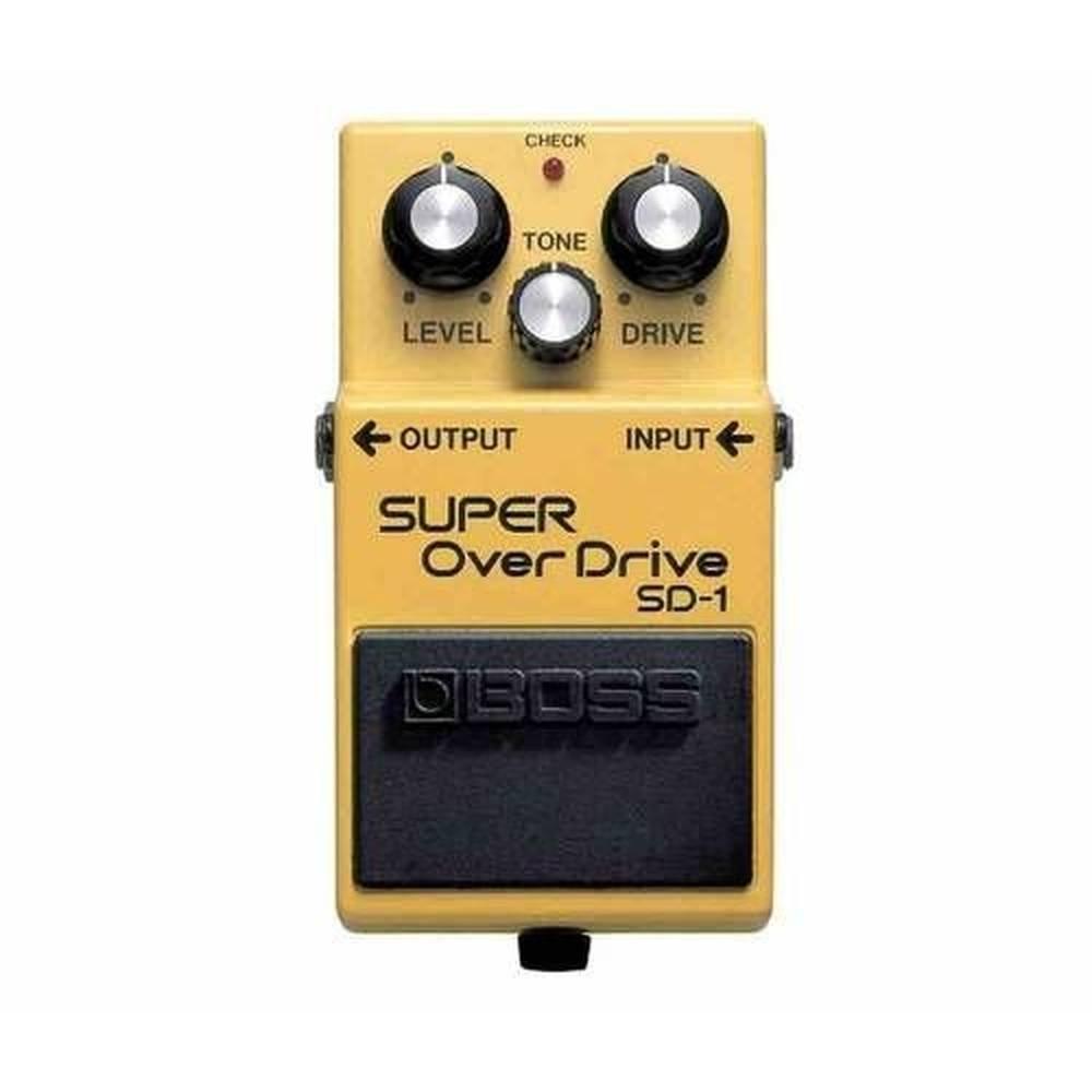 Pedal para Guitarra Boss SD-1 Super Over Drive