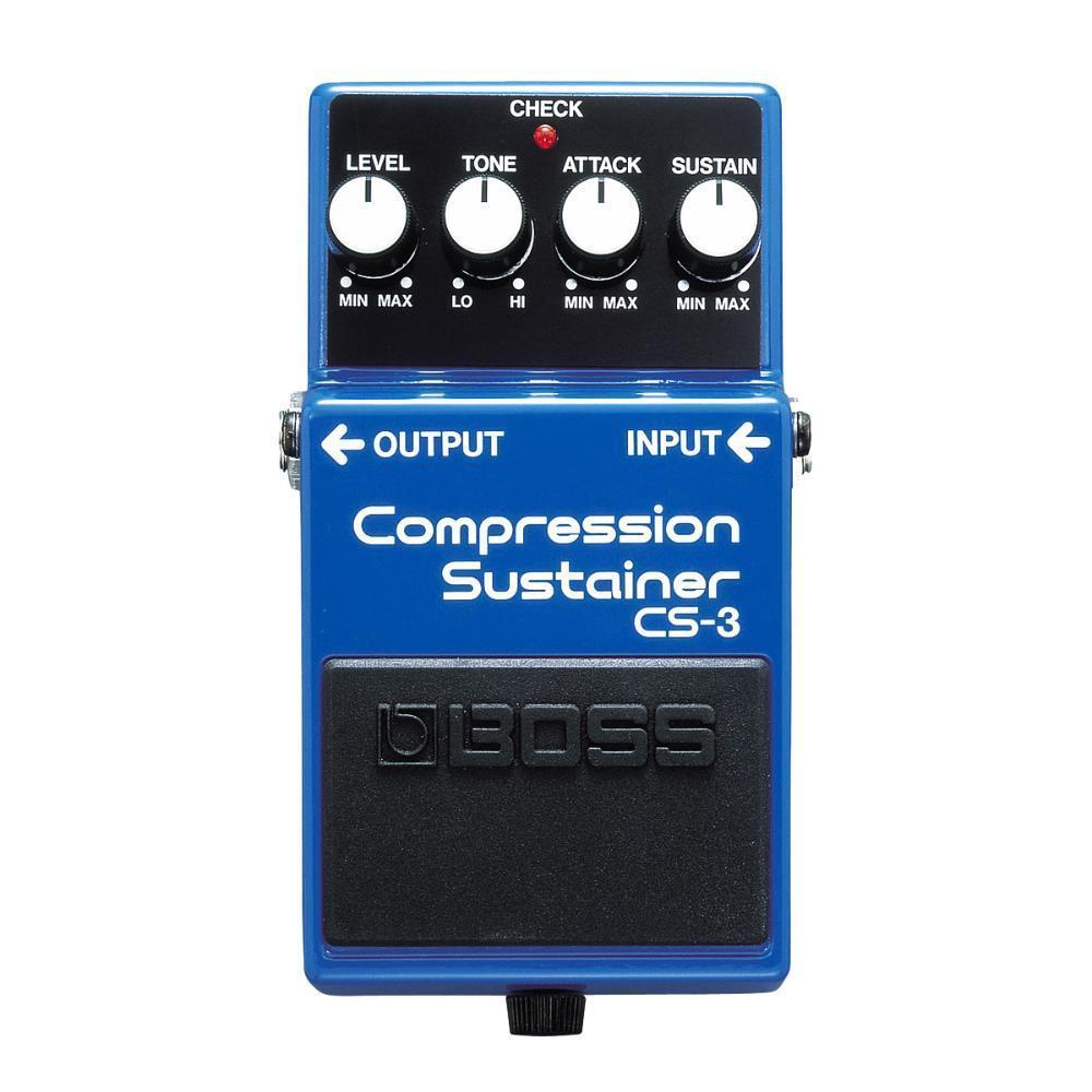 Pedal para Guitarra Compressor Sustain Boss CS-3