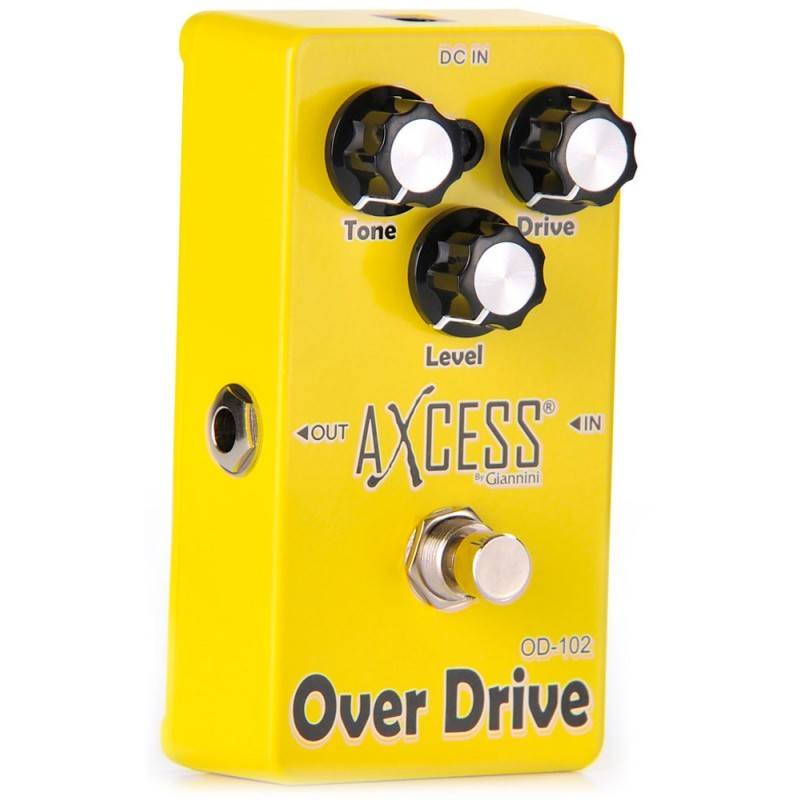 Pedal para guitarra Giannini Axcess Overdrive OD-102