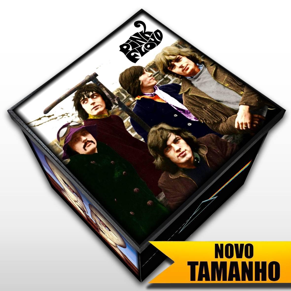 Pink Floyd - Caixa Em Madeira MDF - Tamanho Grande - Mr. Rock