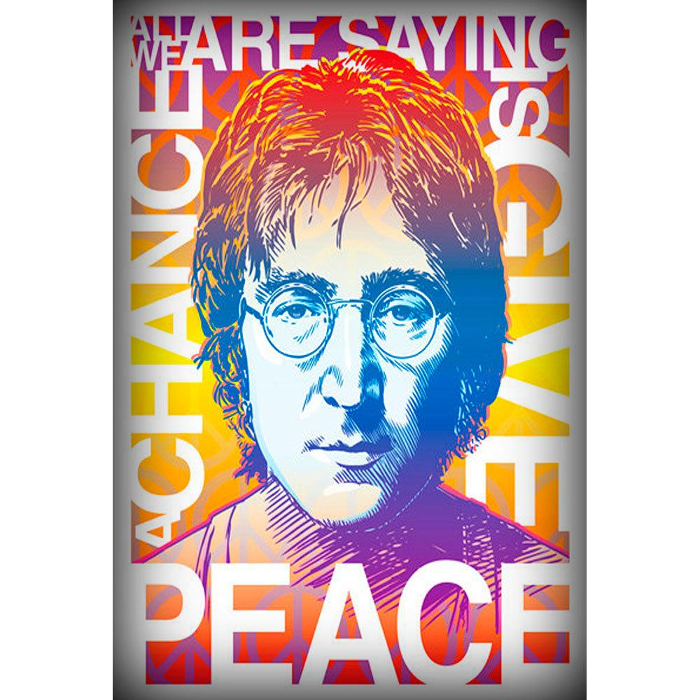 Placa Decorativa Planeta Decor John Lennon