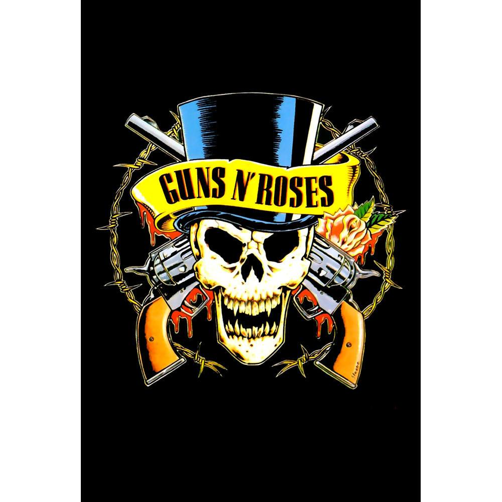 Placa Decorativa Planeta Decor Guns n' Roses