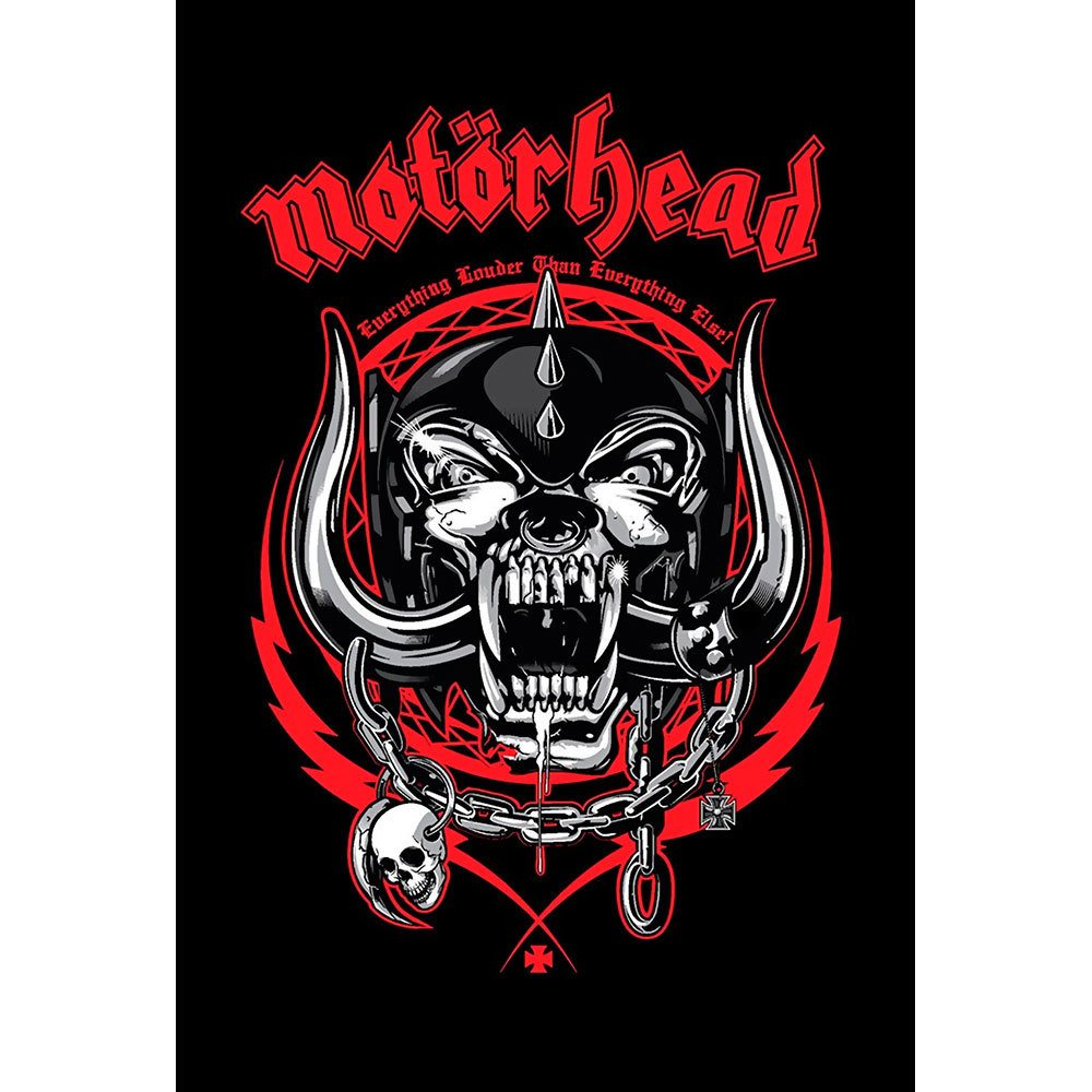 Placa Decorativa Planeta Decor Motörhead