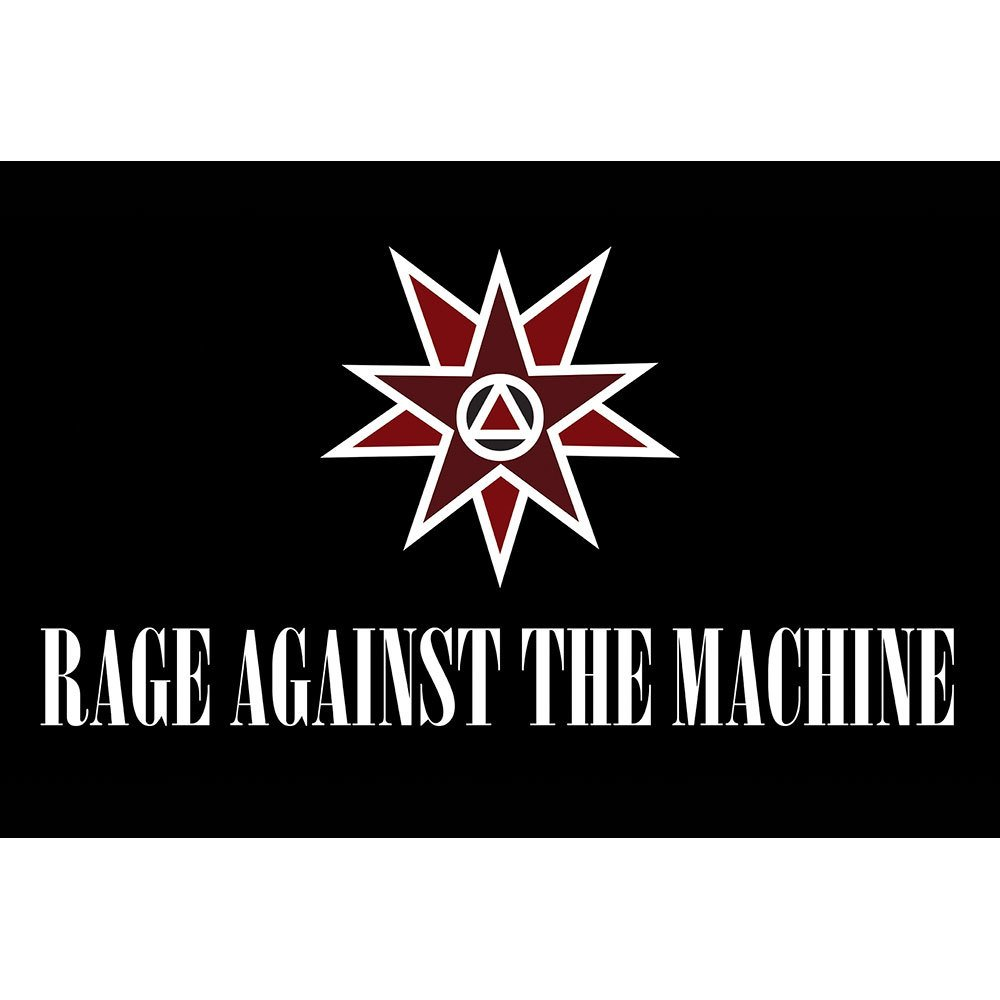Placa Decorativa Planeta Decor Rage Against The Machine