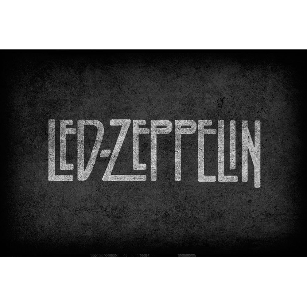 Placa Decorativa Planeta Decor Led Zeppelin