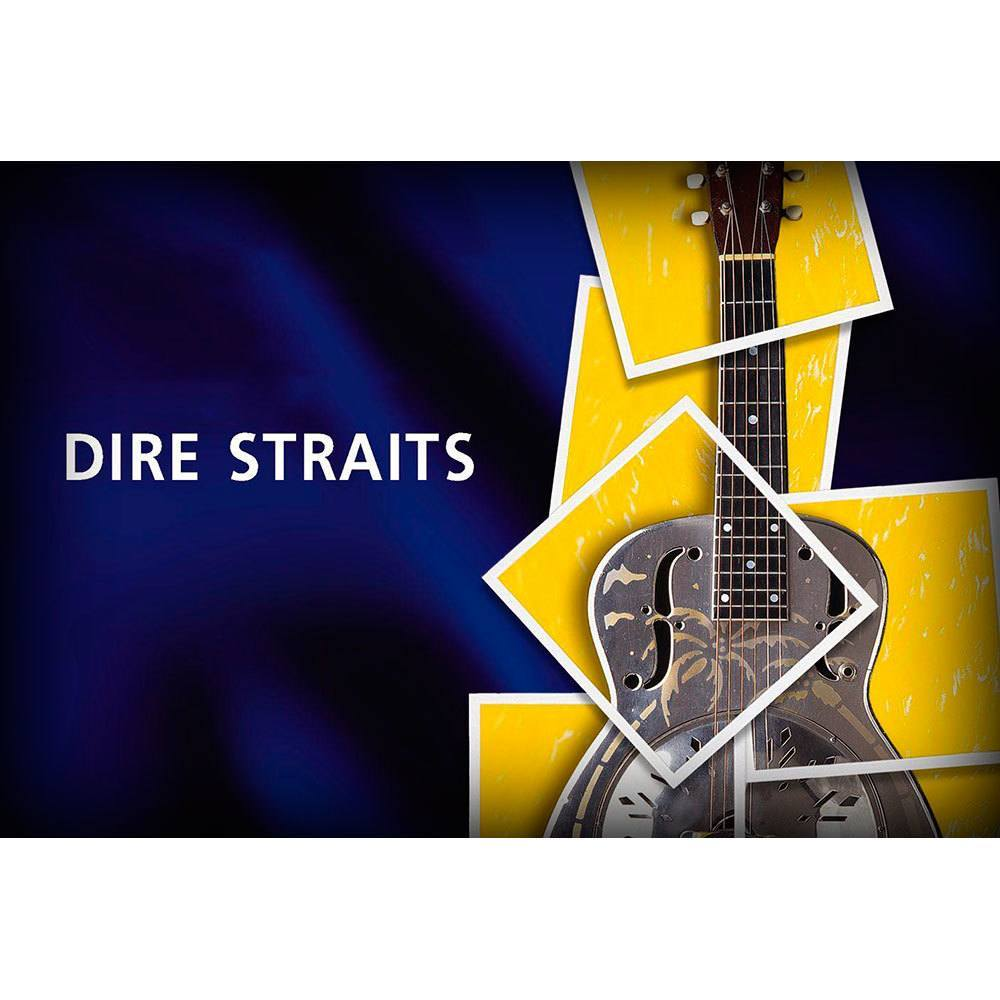 Placa Decorativa Planeta Decor Dire Straits