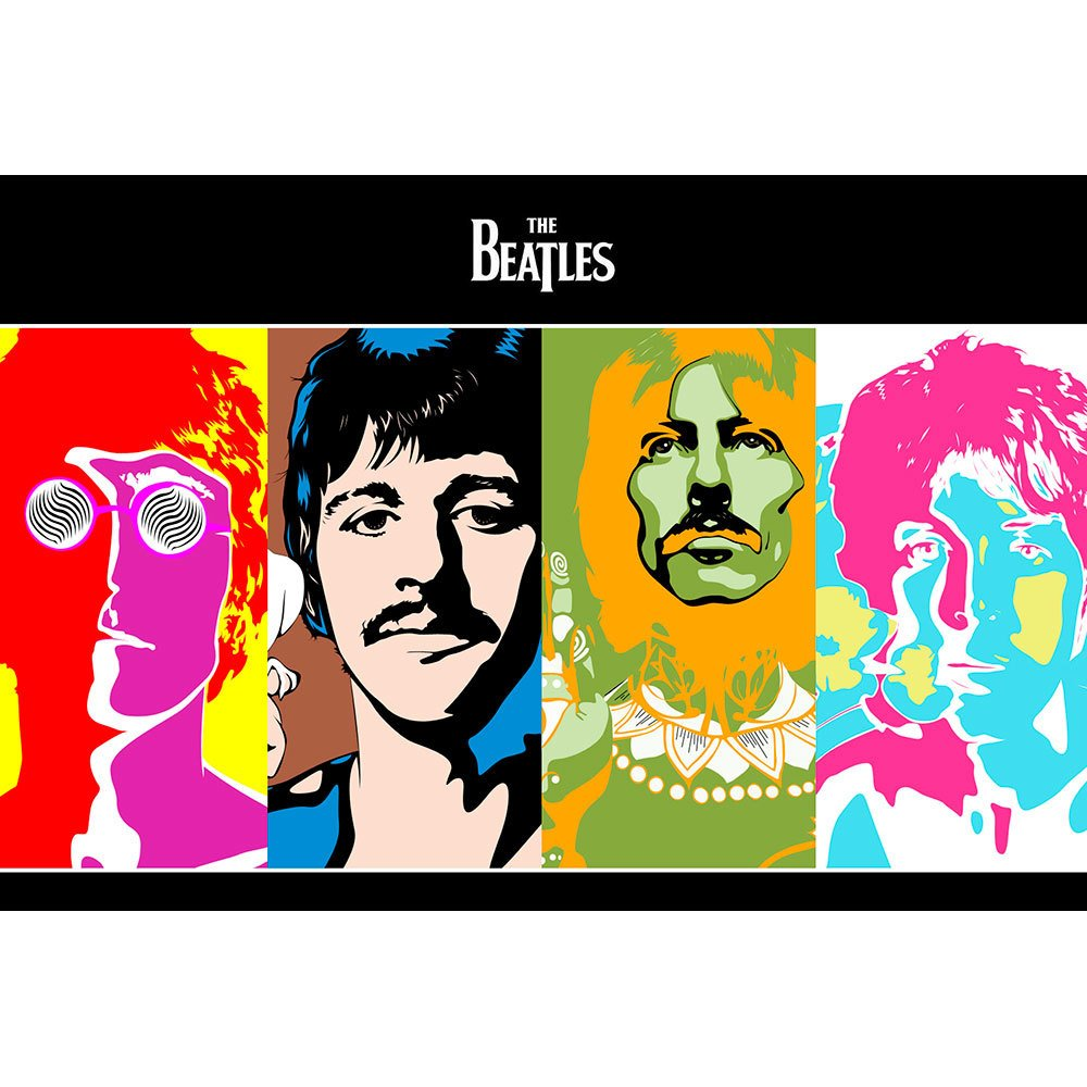 Placa Decorativa Planeta Decor The Beatles