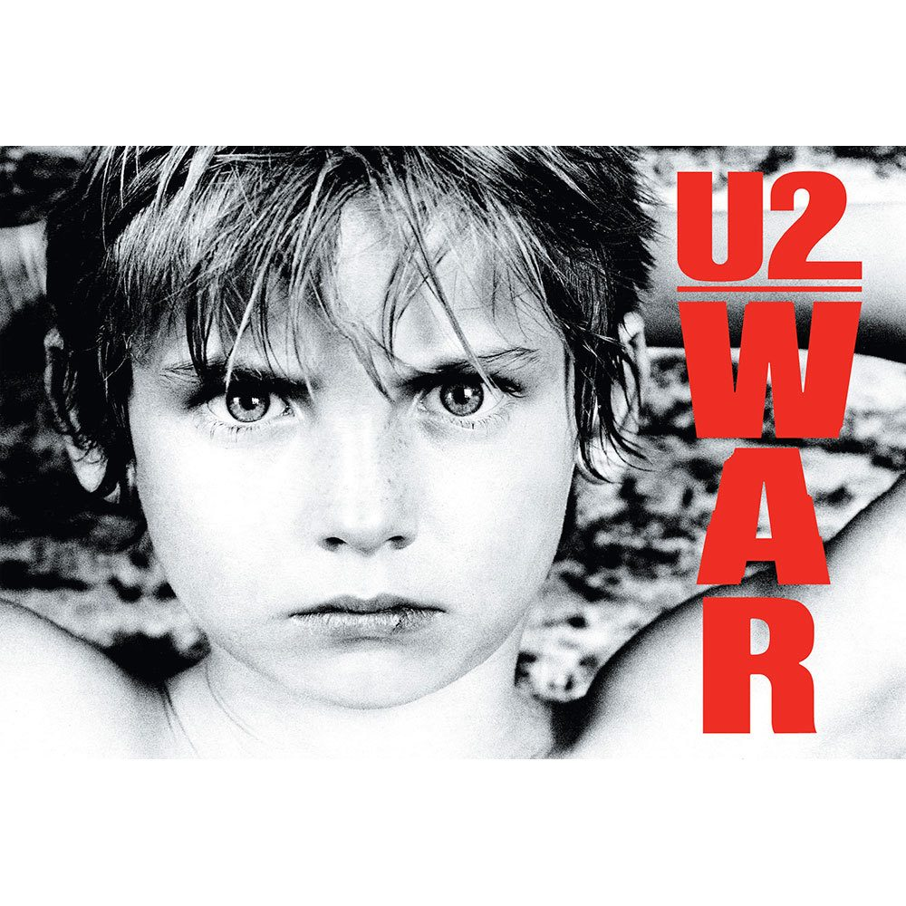 Placa Decorativa Planeta Decor U2 War