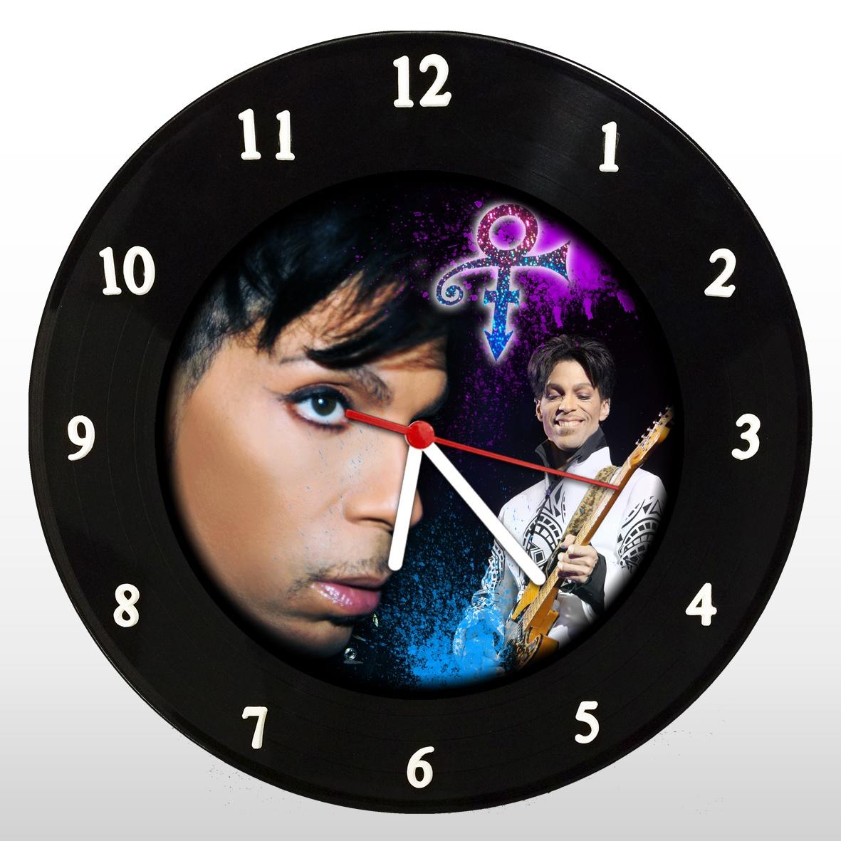 Prince - Relógio de Parede em Disco de Vinil - Mr. Rock