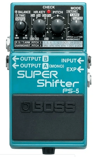 Pedal para Guitarra Boss PS-5 Super Shifter