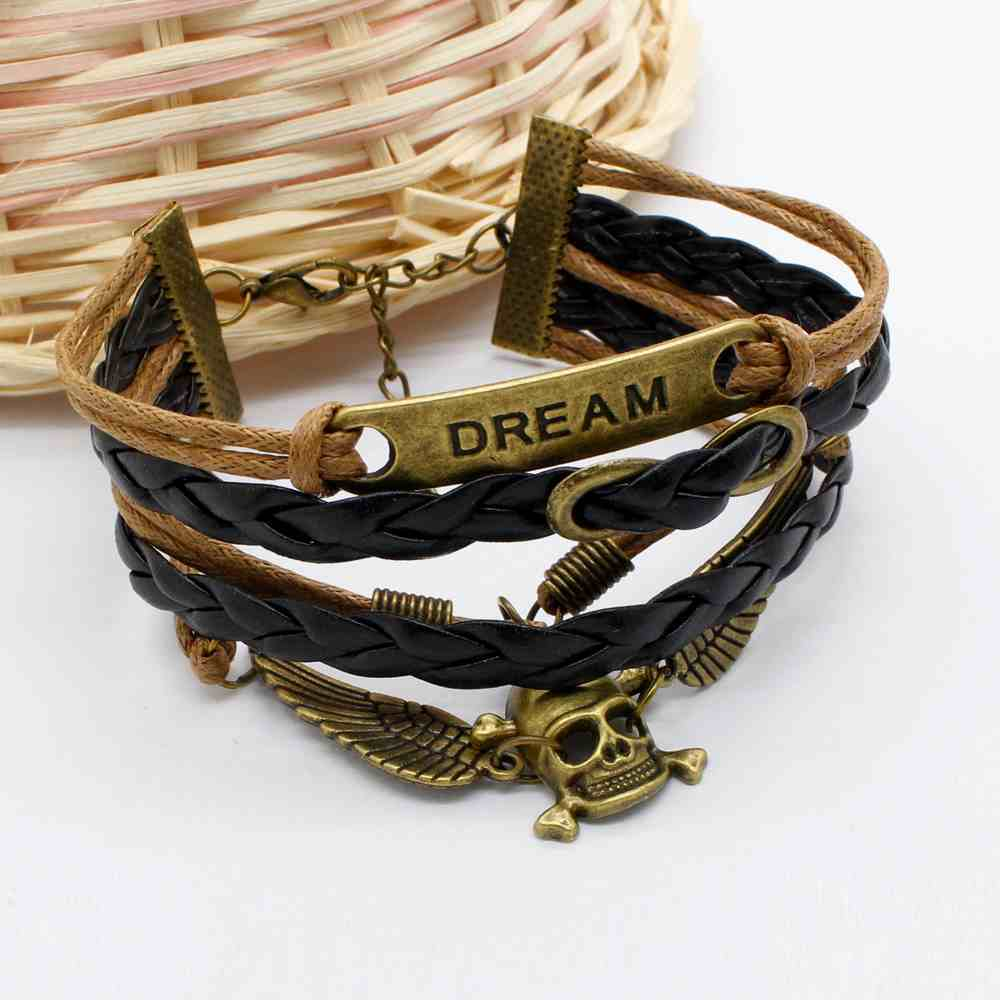 Pulseira Caveira Dream – SkullAchando
