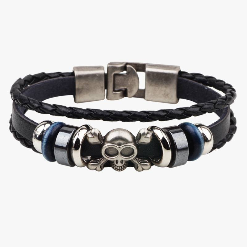 Pulseira Caveira Trio Pirate – SkullAchando