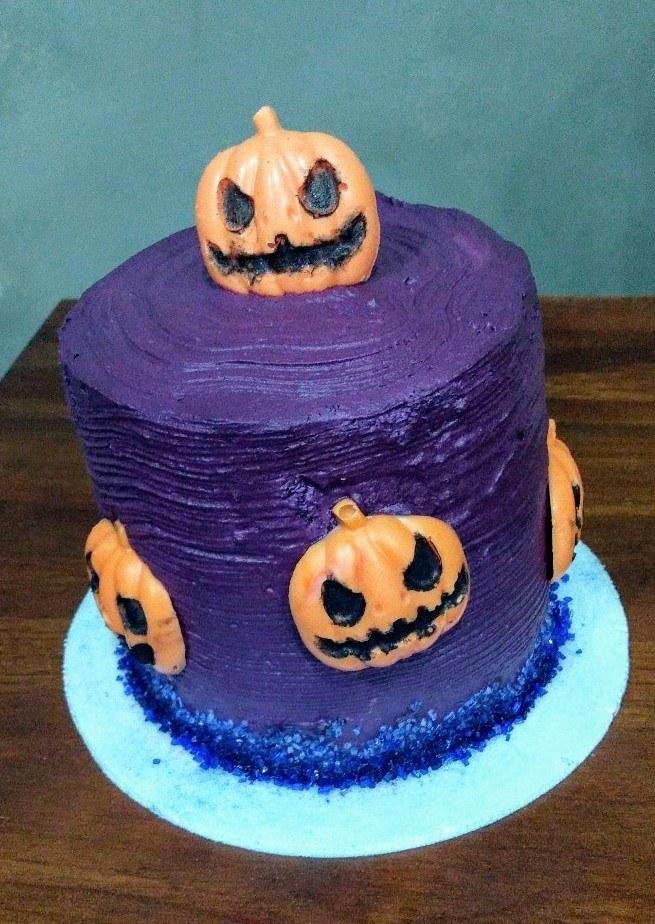 Pumpkin Cake Mini Bolo (10cm) - Doces Fratta