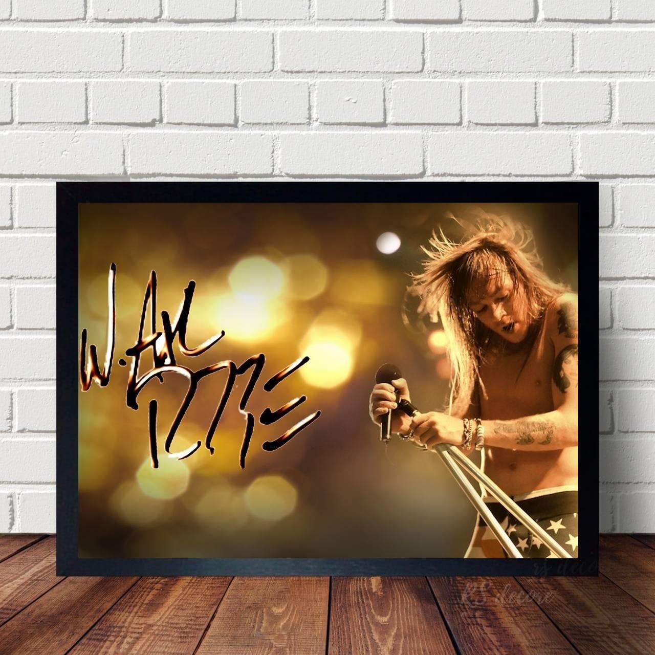 Quadro Axl Rose Guns N Roses
