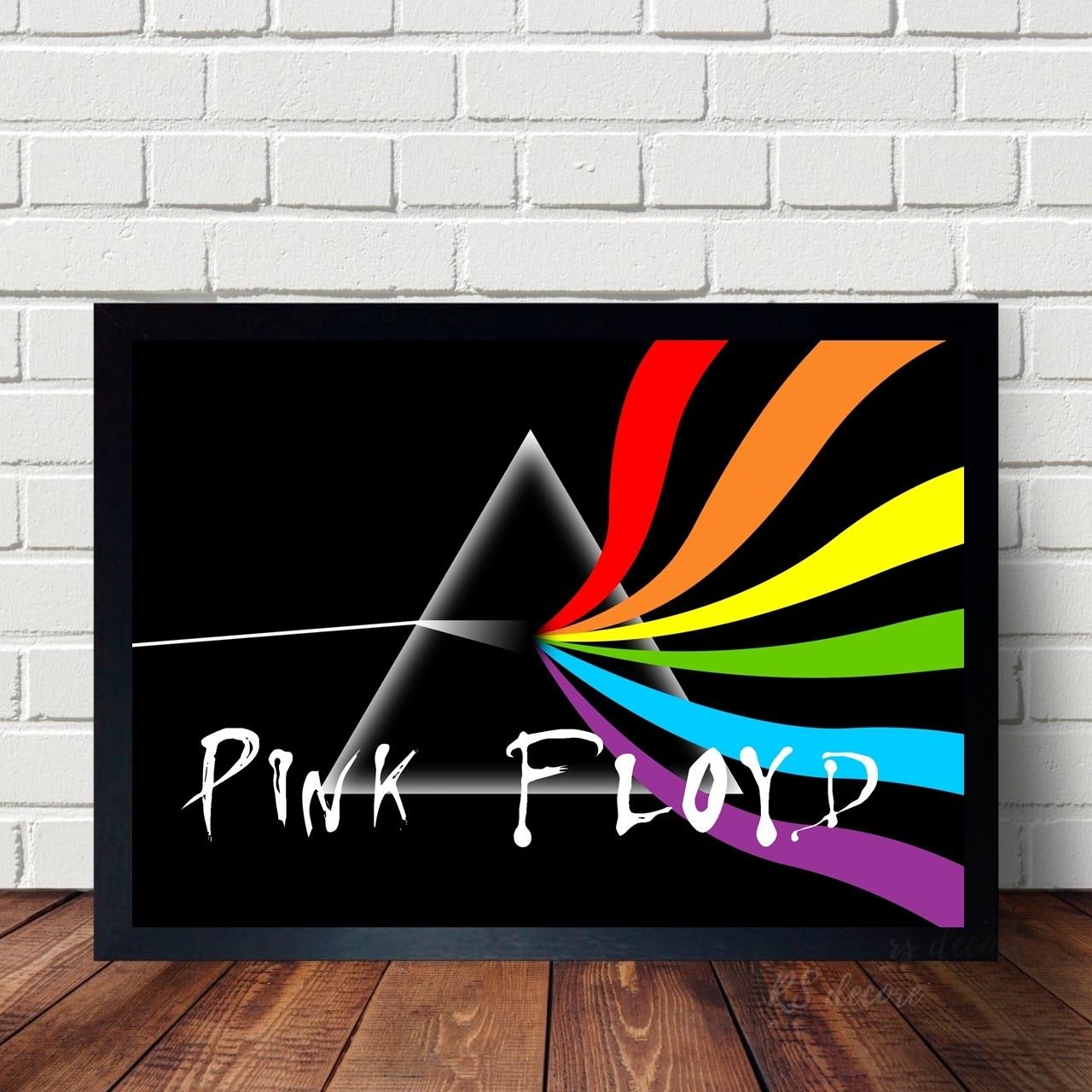 Quadro Banda Pink Floyd