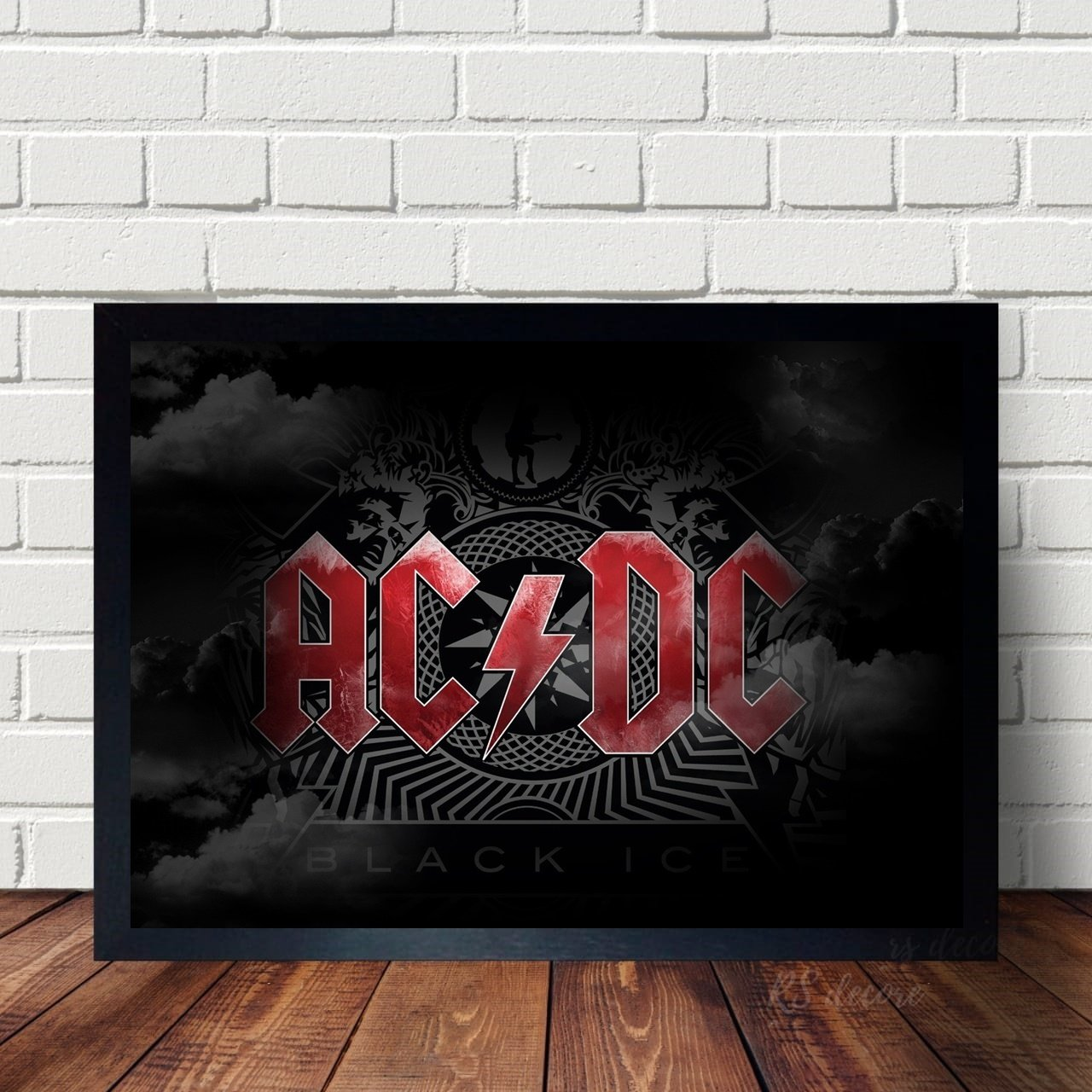 Quadro Da Banda de Rock ACDC