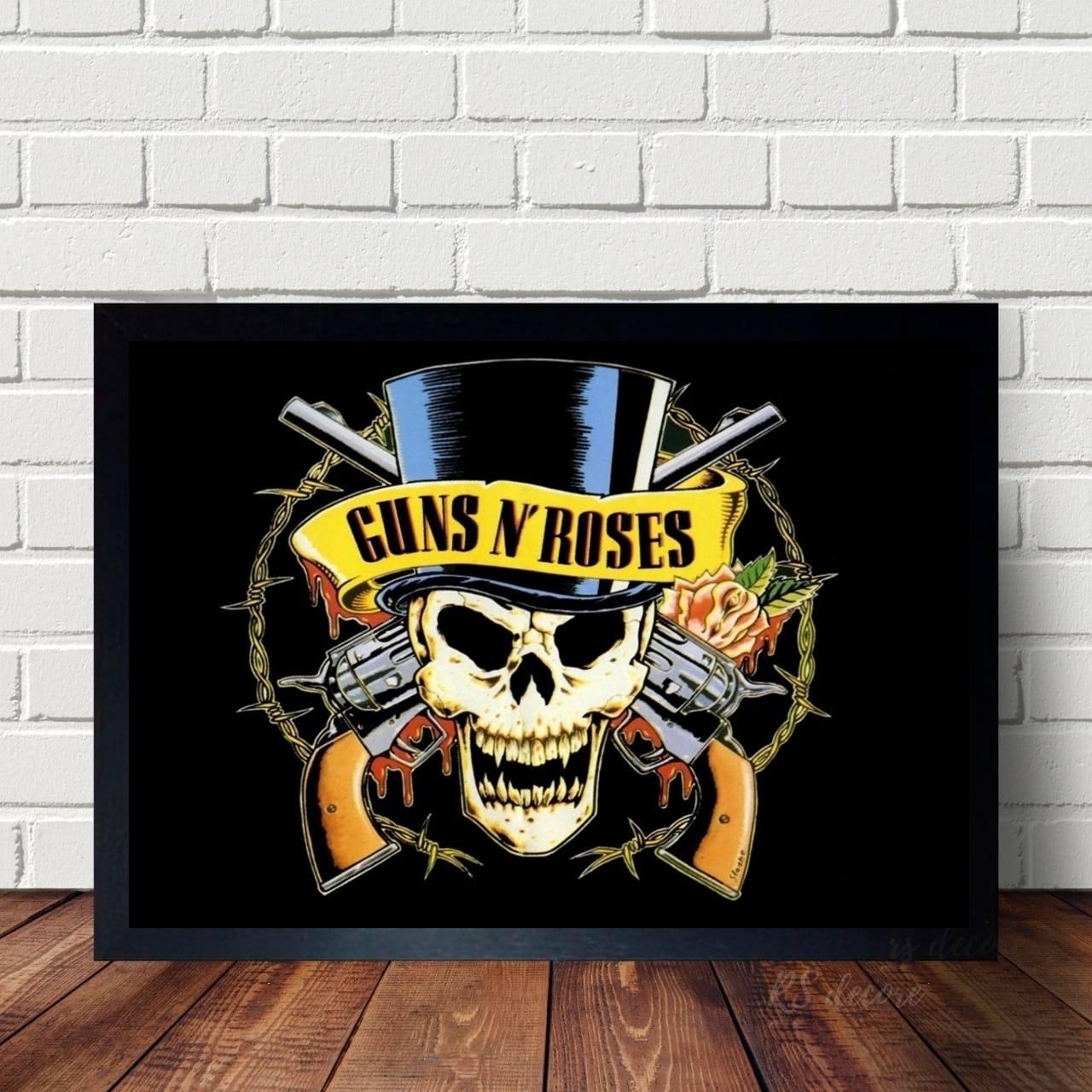 Quadro Da Banda Guns N Roses