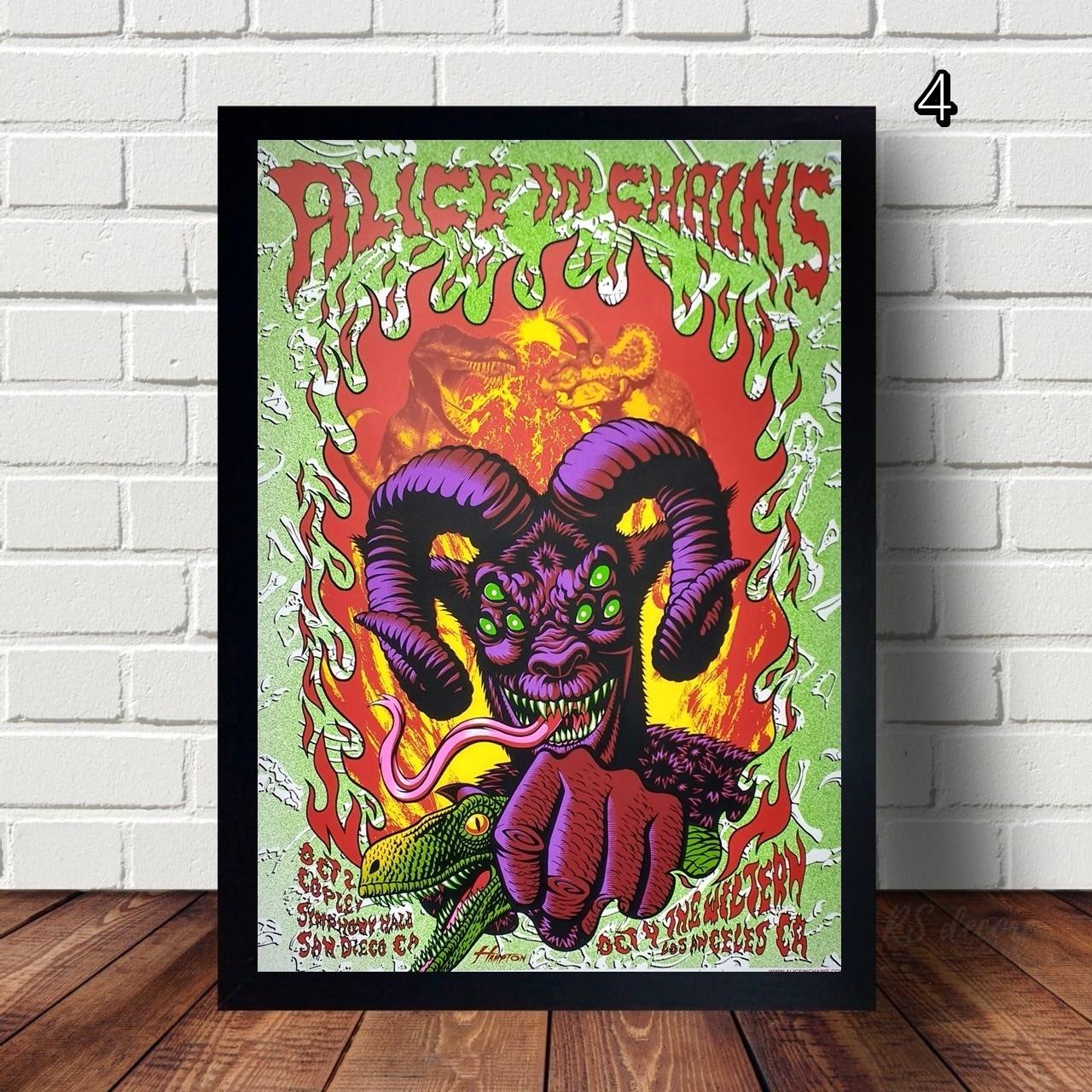 Quadro Decorativo Alice In Chains IV