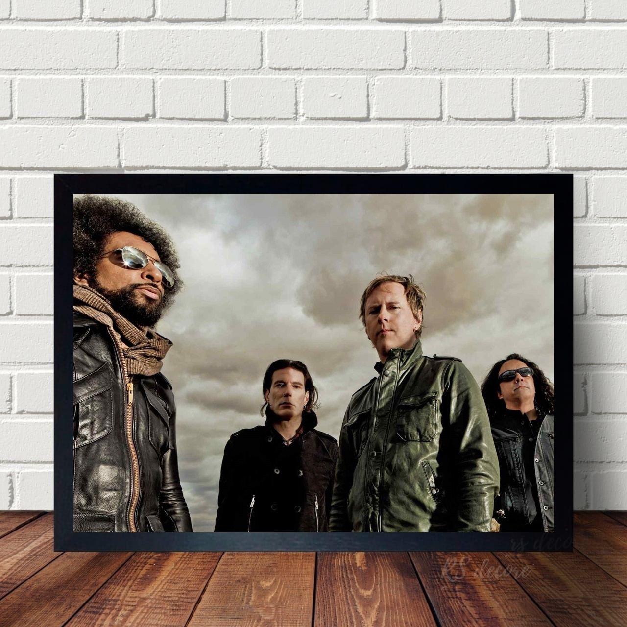 Quadro Decorativo Alice In Chains X