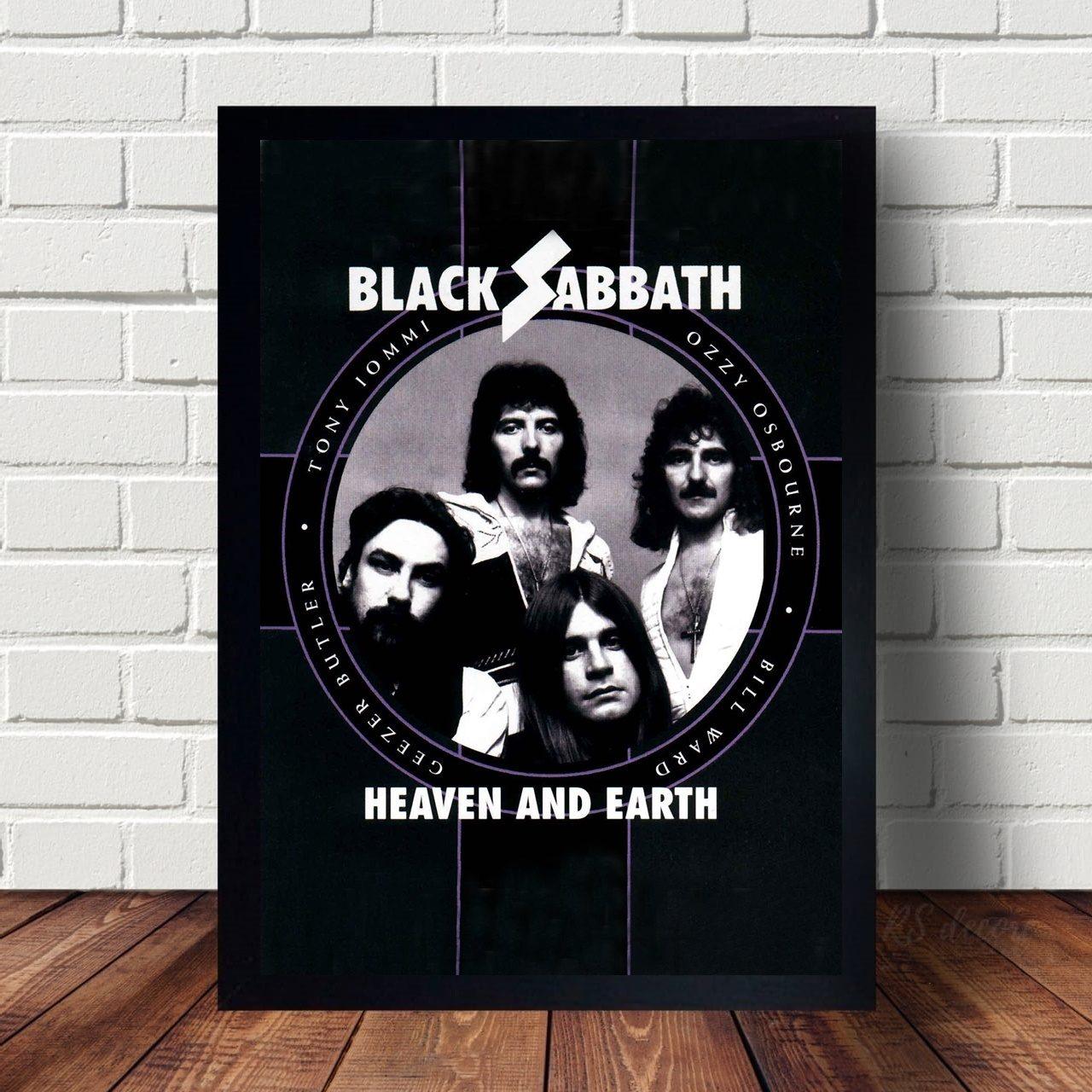 Quadro Decorativo Black Sabbath I