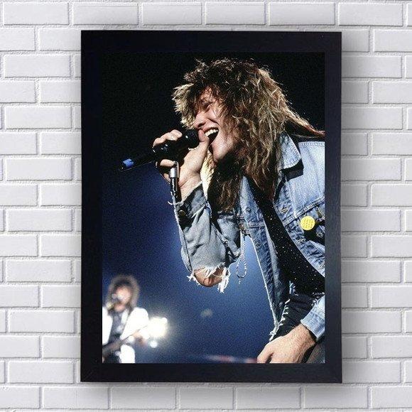 Quadro Decorativo Bon Jovi III