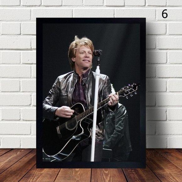 Quadro Decorativo Bon Jovi V