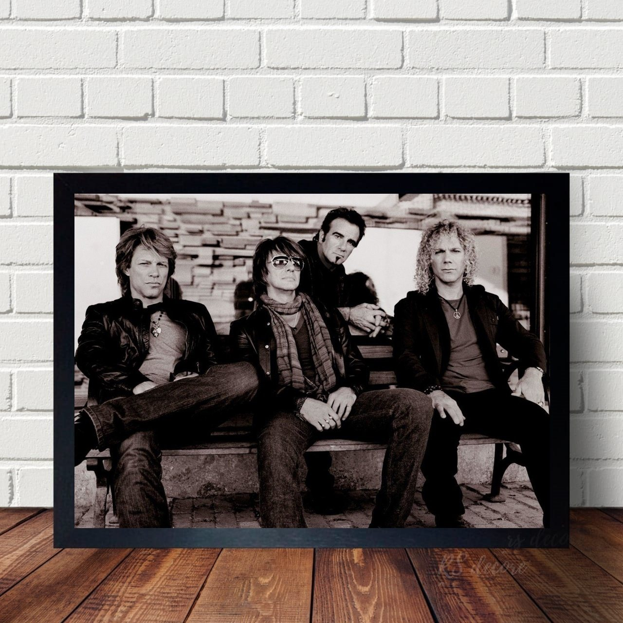 Quadro Decorativo Bon Jovi VIII