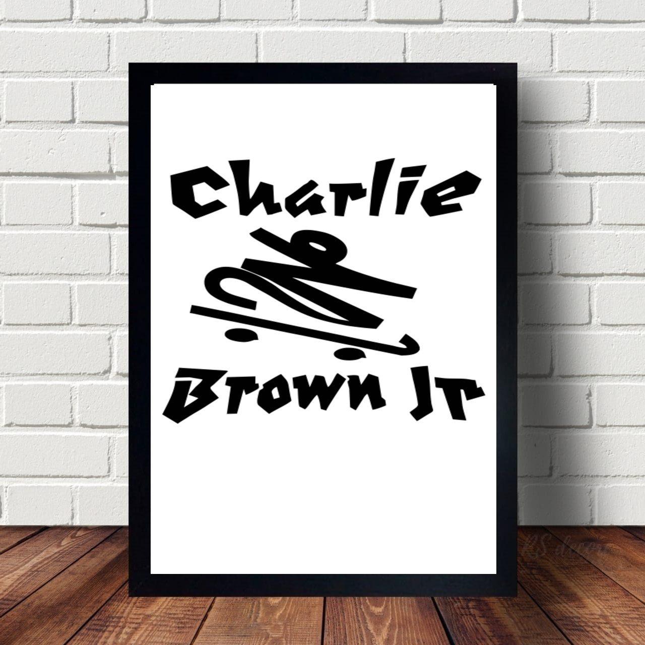Quadro Decorativo Charlie Brown Jr I