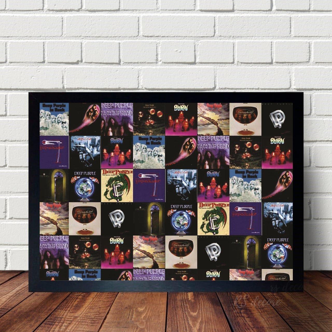 Quadro Decorativo Deep Purple III