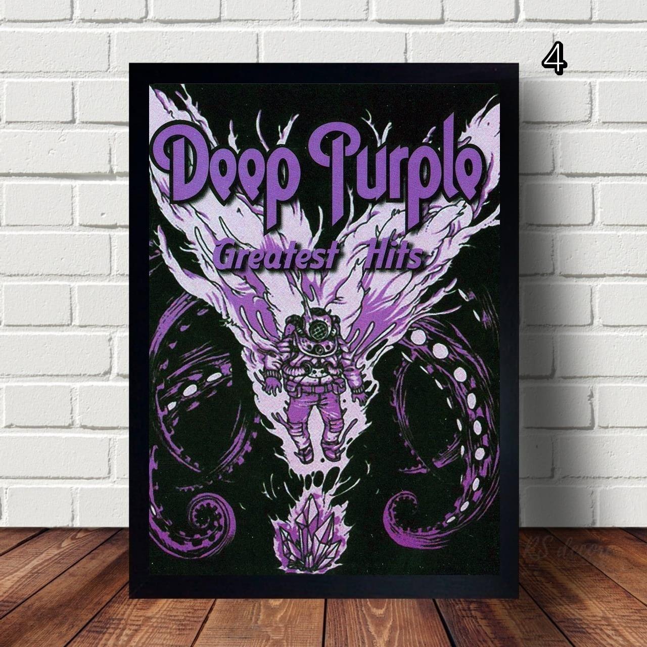 Quadro Decorativo Deep Purple IV