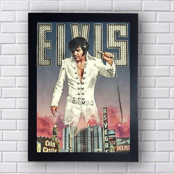 Quadro Decorativo Elvis I