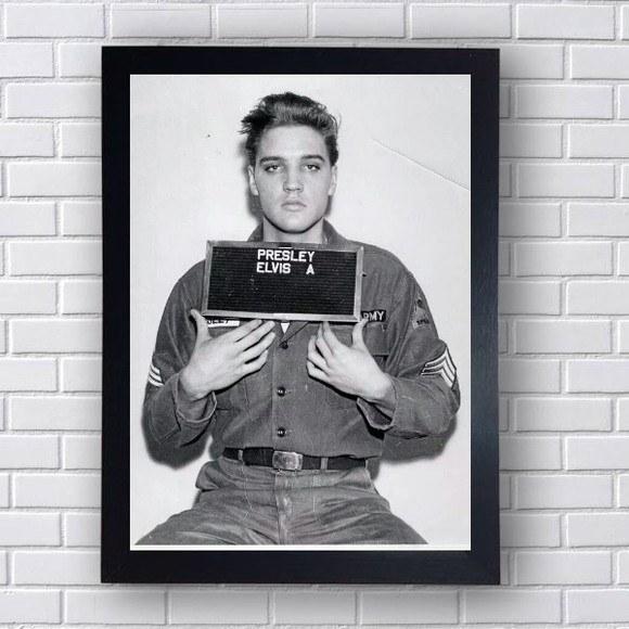 Quadro Decorativo Elvis III