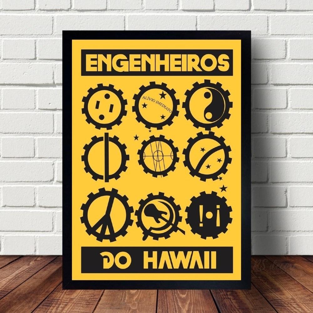 Quadro Decorativo Engenheiros do Hawaii I