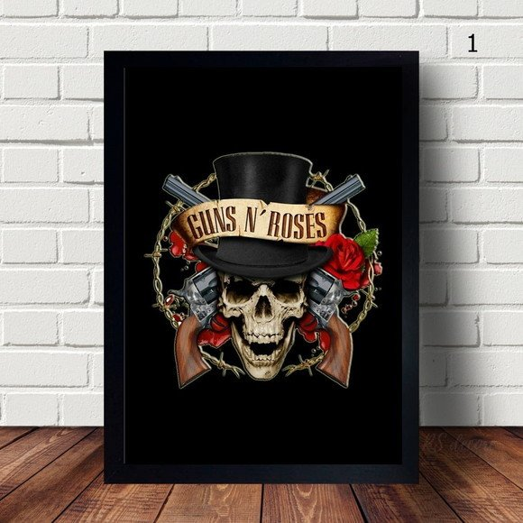 Quadro Decorativo Guns N' Roses II