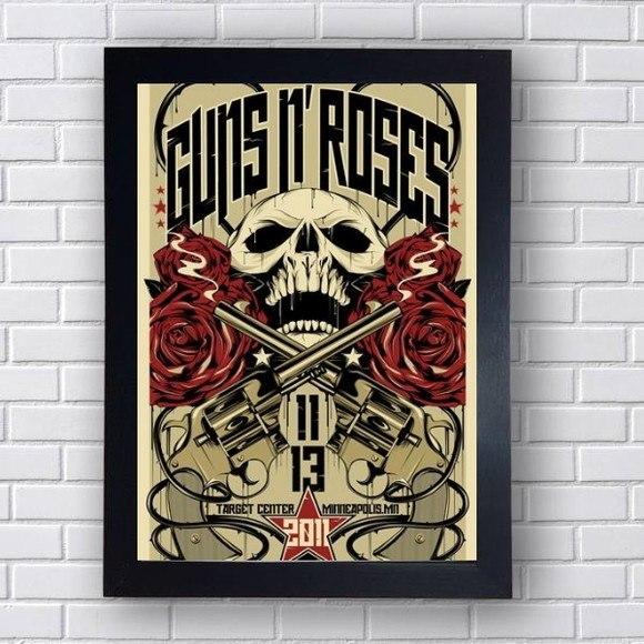 Quadro Decorativo Guns N' Roses IV
