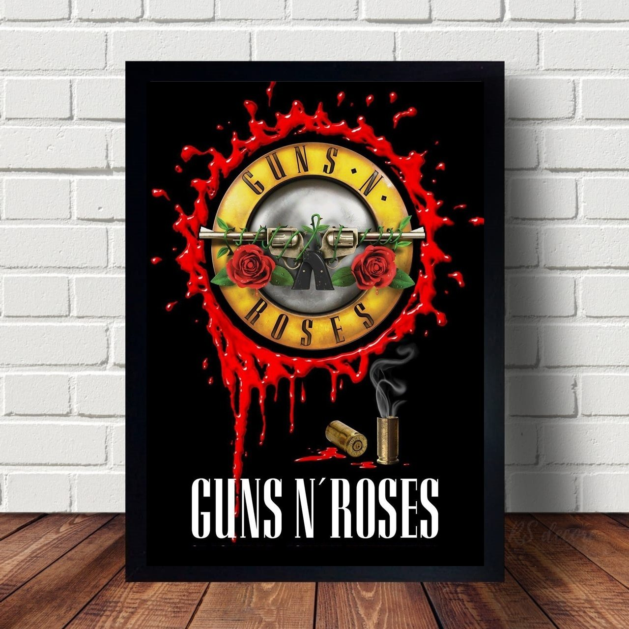Quadro Decorativo Guns N Roses Rock