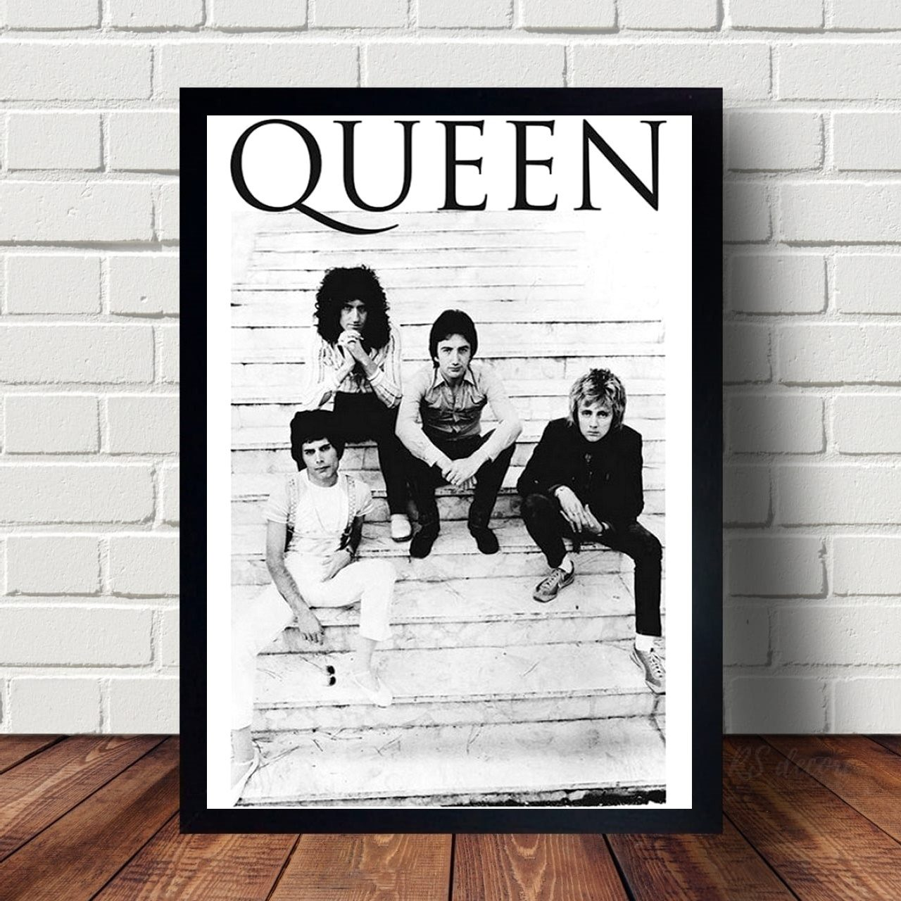 Quadro decorativo Integrantes da Banda Queen