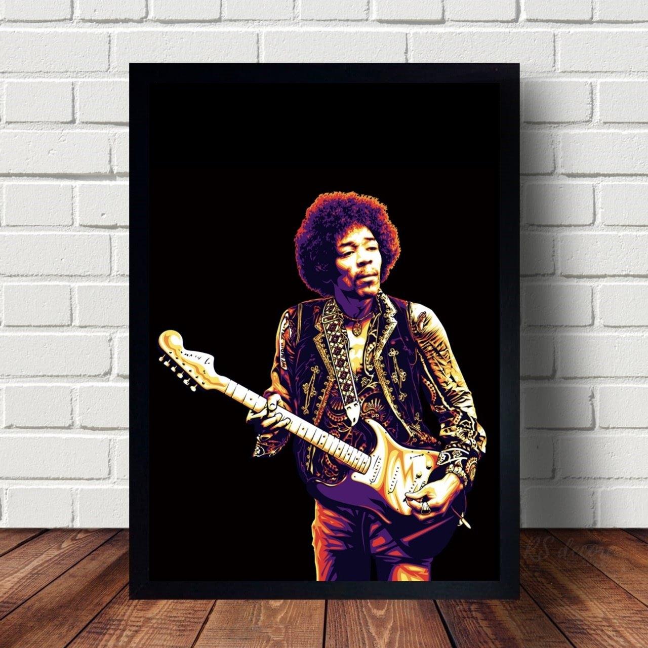 Quadro Decorativo Jimi Hendrix I
