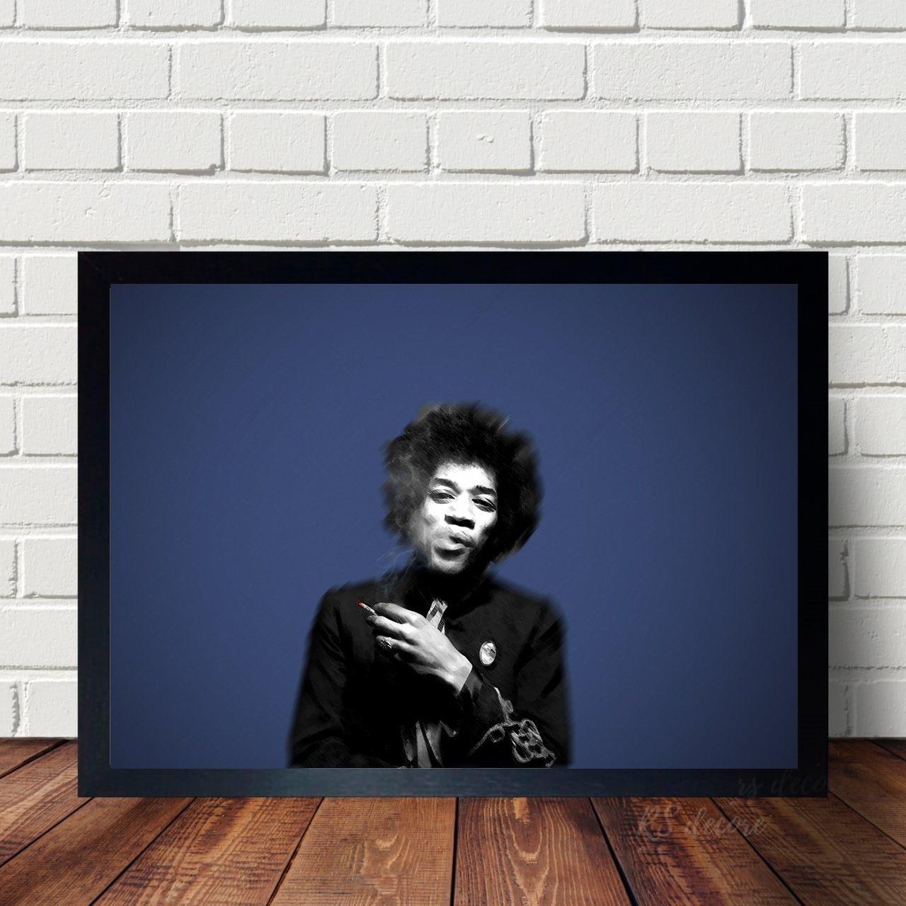 Quadro Decorativo Jimi Hendrix V