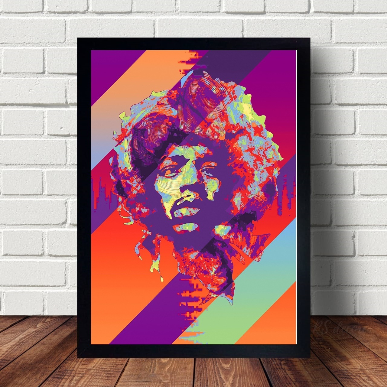 Quadro Decorativo Jimi Hendrix VIII