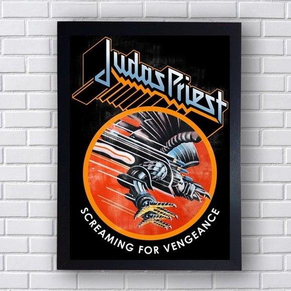 Quadro Decorativo  Judas Priest V