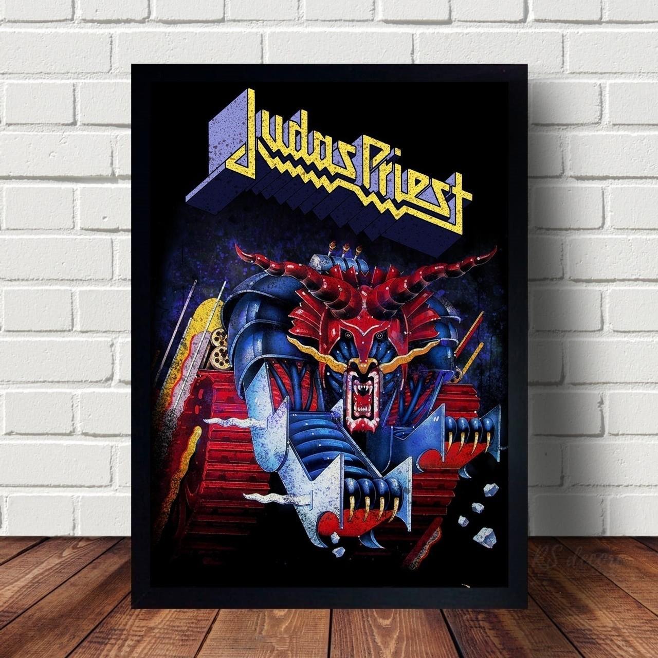 Quadro Decorativo Judas Priest X