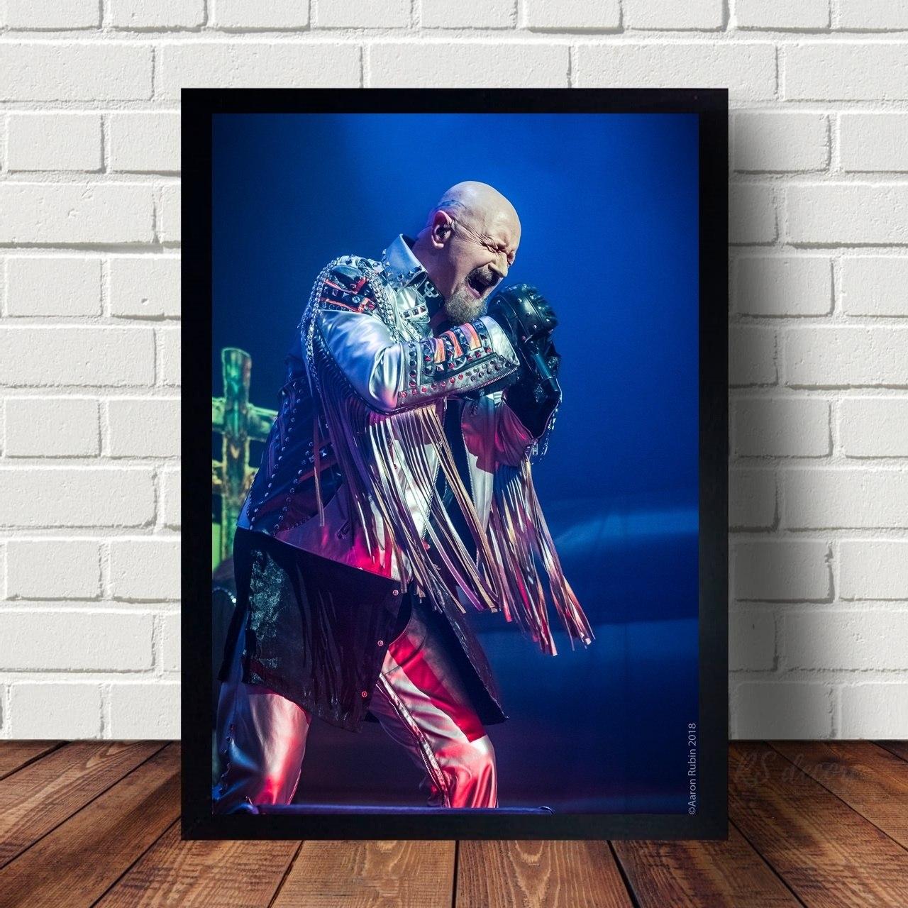 Quadro Decorativo Judas Priest XIV