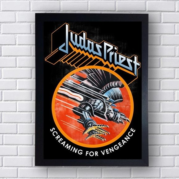 Quadro Decorativo  Judas Priest  I